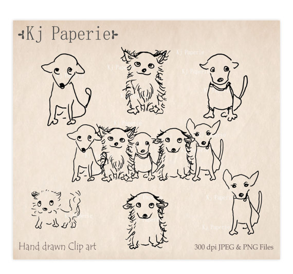 Drawn puppy small dog Clip puppy art clip art