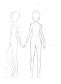 Drawn little girl female Template Template Body Templates Body