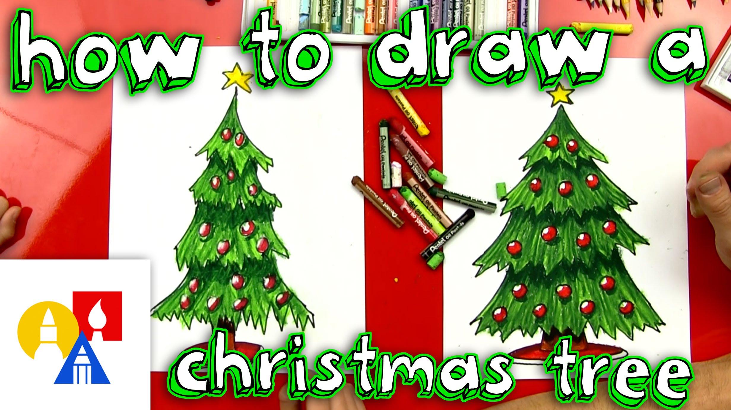 Drawn christmas ornaments childrens Christmas Tree How Draw Draw