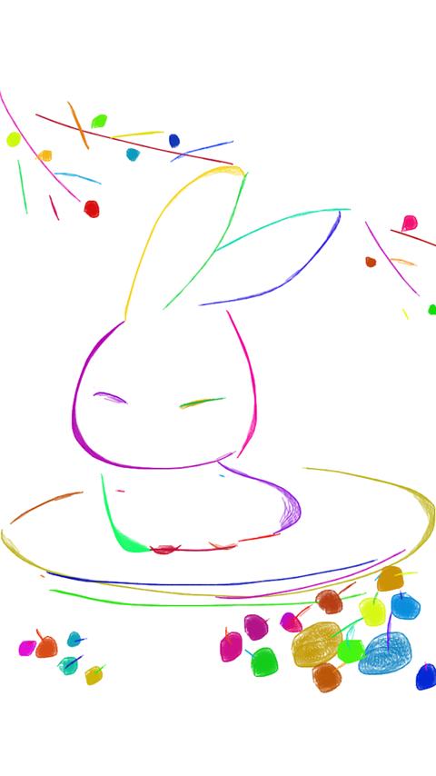 Drawn amd kid & screenshot Google Draw Doodle