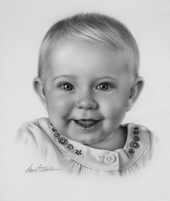 Drawn portrait baby Drawings more images Portraits best