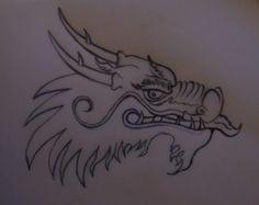 Drawn chinese dragon Draw Chinese Chinese Draw Chinese