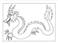 Drawn chinese dragon  a to How Draw