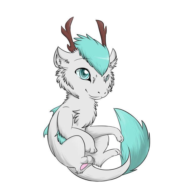 Drawn chinese dragon anime #9