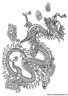 Drawn chinese dragon female Chinese Japanese Pinterest For Dragons!