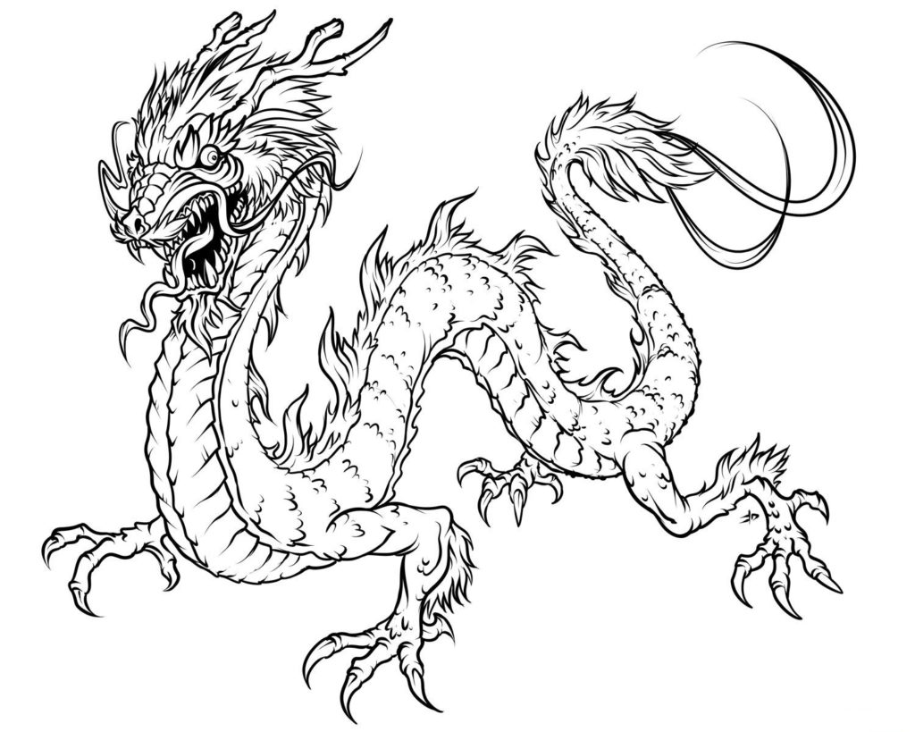 Drawn chinese dragon vietnamese dragon New 2016 Drawing Dragon Page
