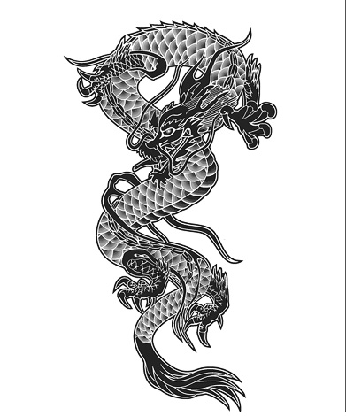 Drawn chinese dragon vietnamese dragon Dragon Japanese Symbolism Dragons