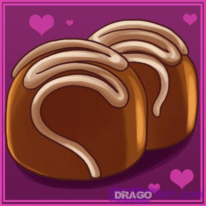 Drawn chocolate pastry How Draw a  Culture