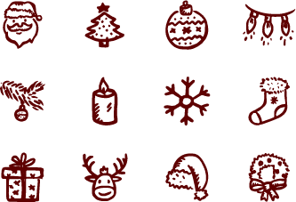 Drawn christmas Vector Christmas Merry by Merry