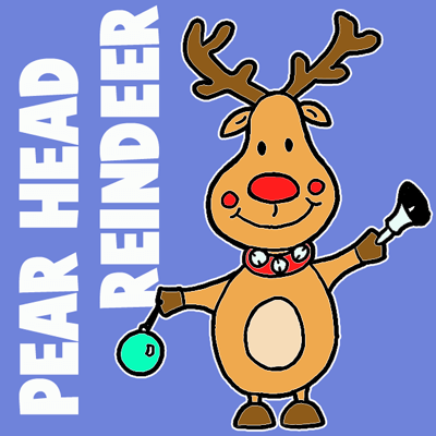 Drawn reindeer bell To by Ornament Lessons Archives