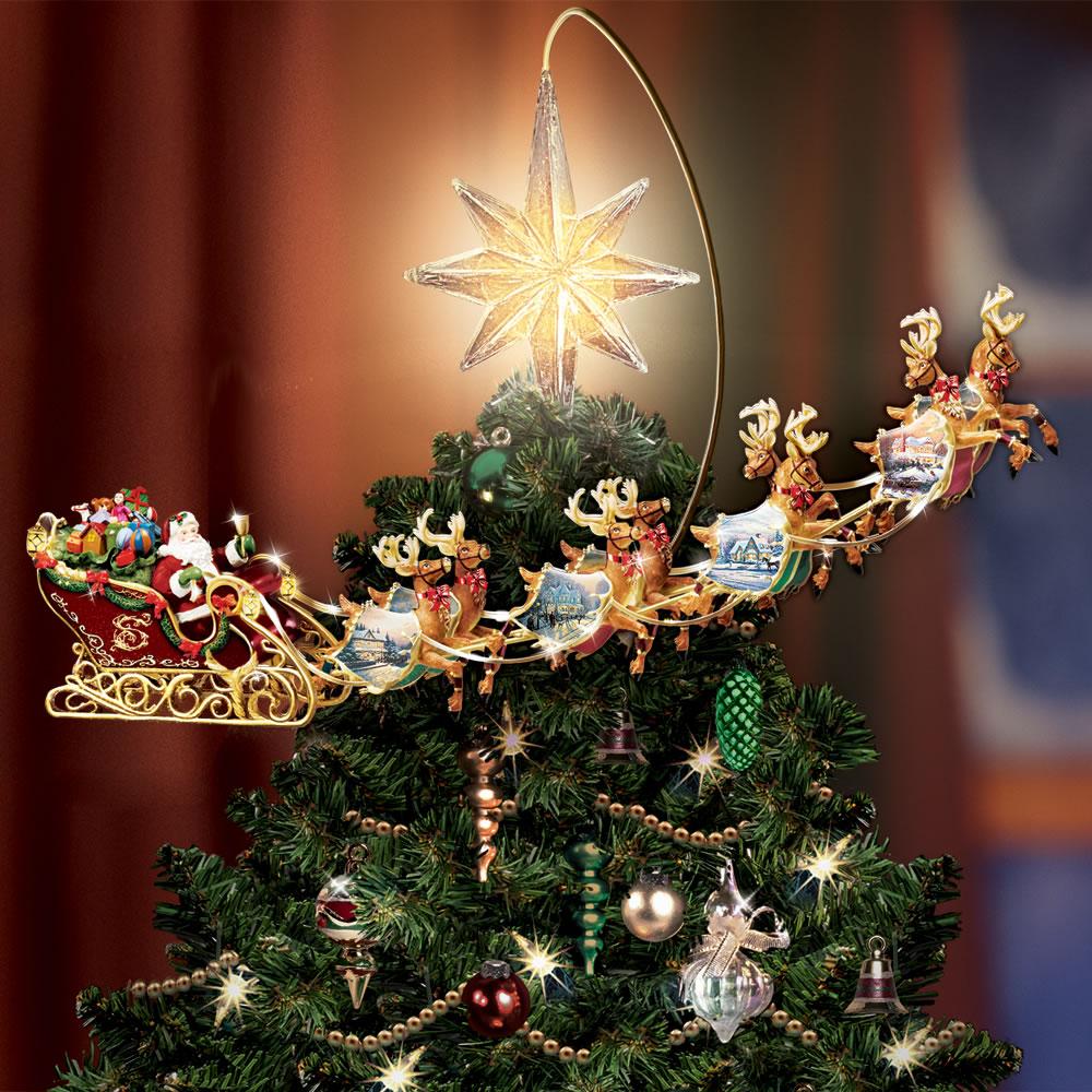 Drawn reindeer christmas tree Kinkade The Kinkade Revolving