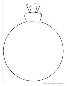 Drawn christmas ornaments blank Sheet Christmas Printable ornament com