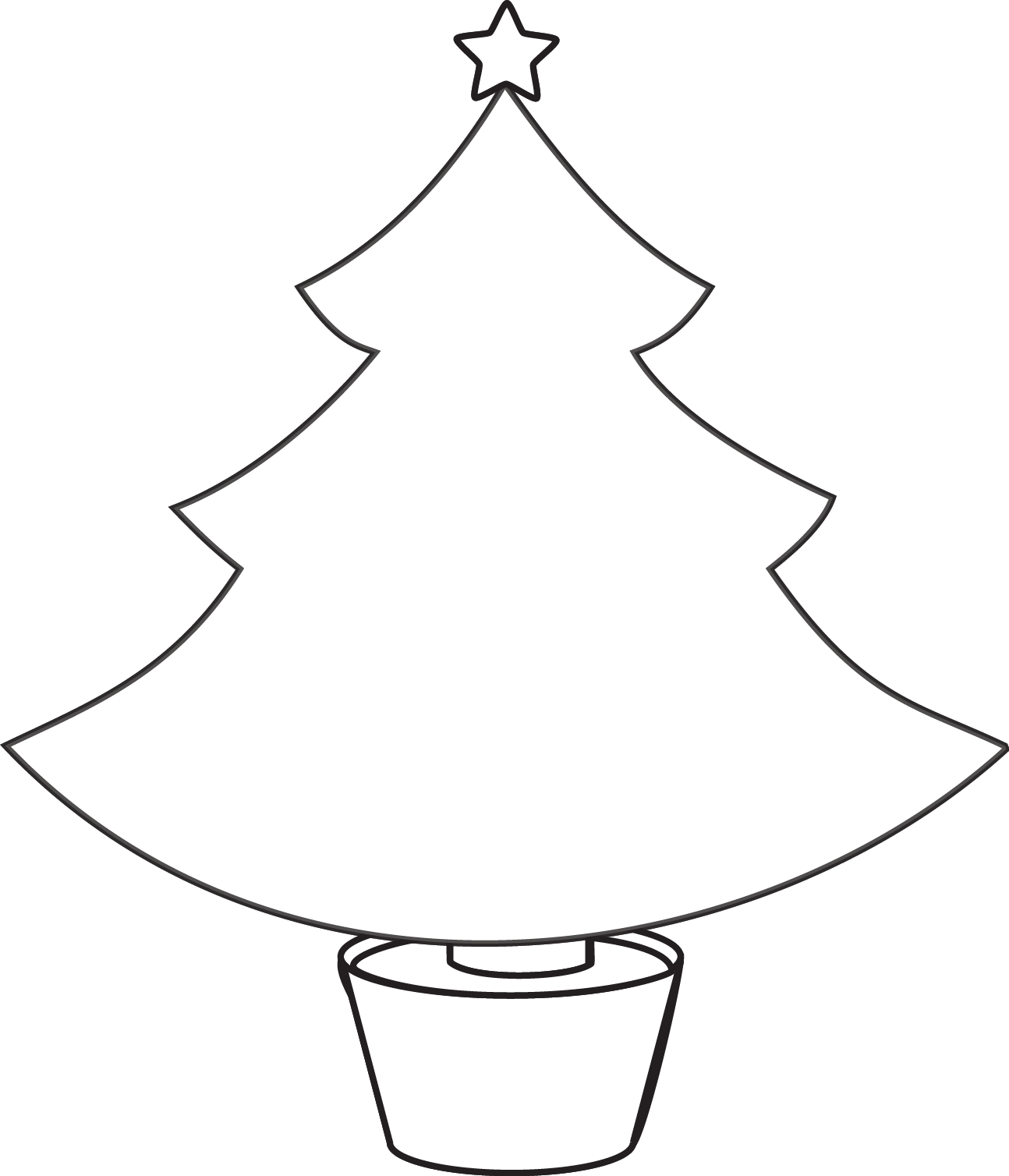 Drawn christmas ornaments bulb Tree clip free Coloring download
