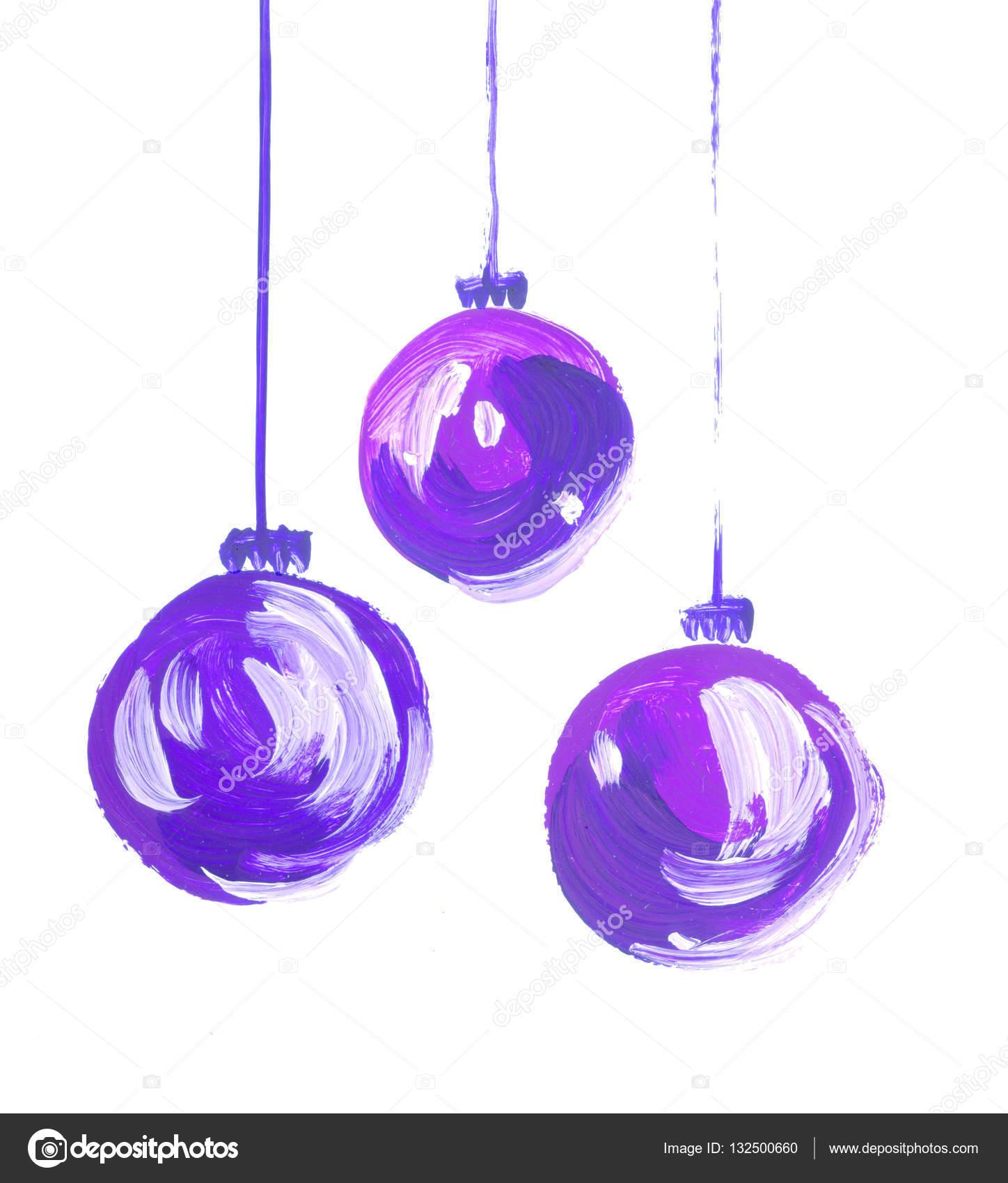 Drawn christmas ornaments bulb Bulbs christmas bulbs drawn set