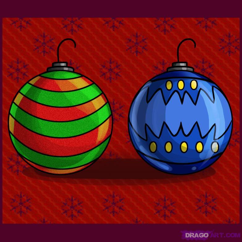 Drawn christmas ornaments bulb Ornaments Christmas Christmas draw Draw