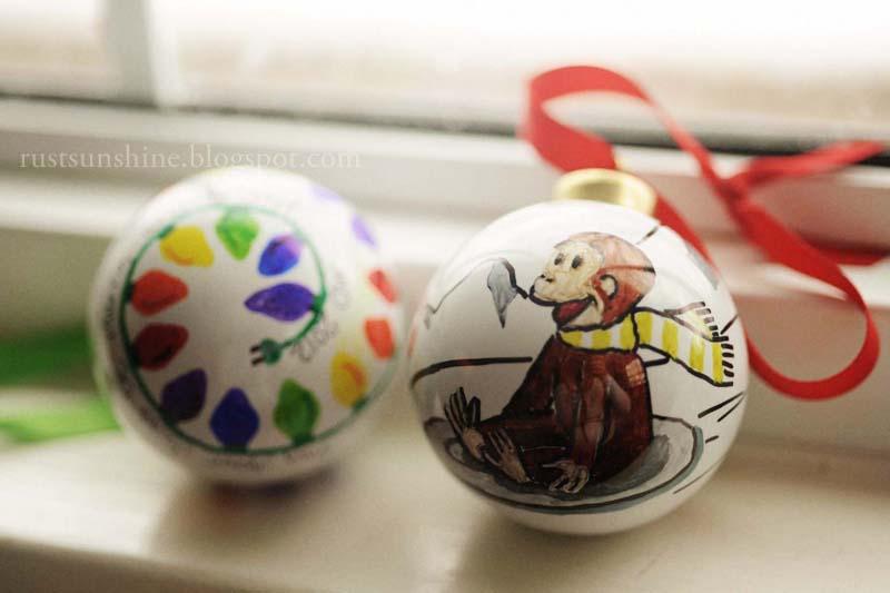 Drawn christmas ornaments bulb Books) by I Sharpie one