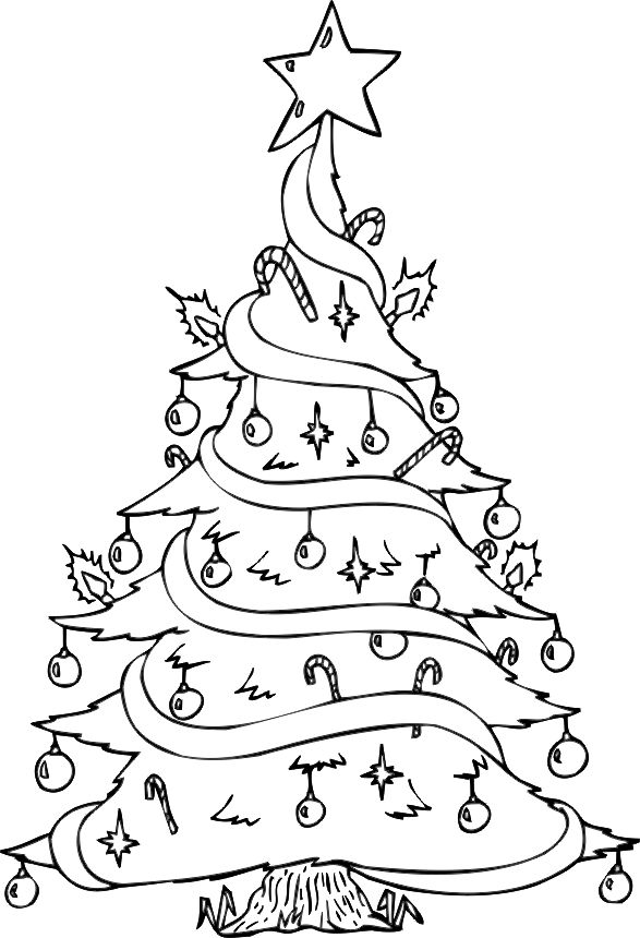 Drawn christmas ornaments childrens Christmas tree on christmas Duds: