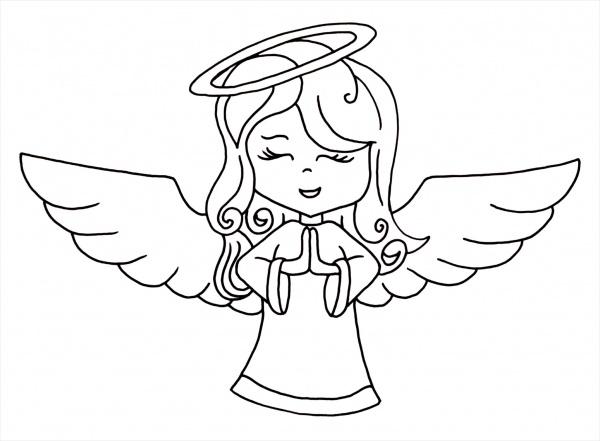 Drawn christmas ornaments christmas angel JPG Image Drawing AI Drawings