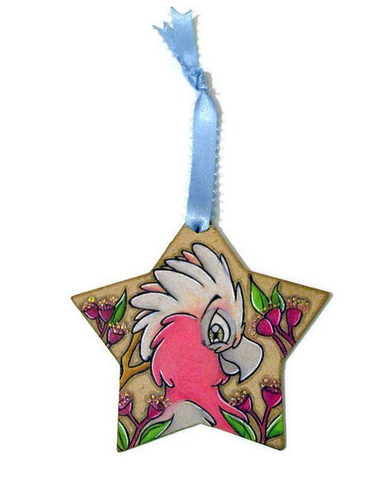 Drawn christmas ornaments christmas decoration Pink Christmas Ornament  Galah