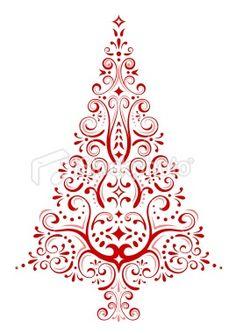 Drawn christmas ornaments ornate This Christmas Tree guestbook Christmas