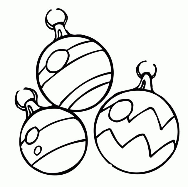 Drawn christmas ornaments coloring book Coloring best pages Find coloring