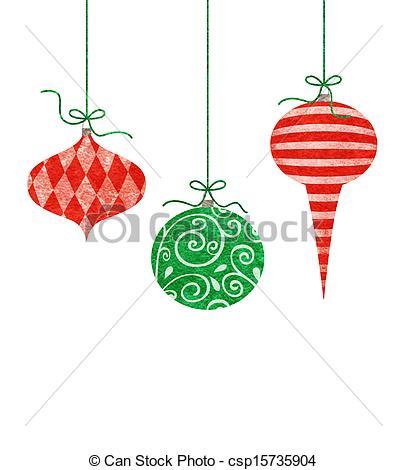 Drawn christmas ornaments cute Christmas  Illustration of Ornaments