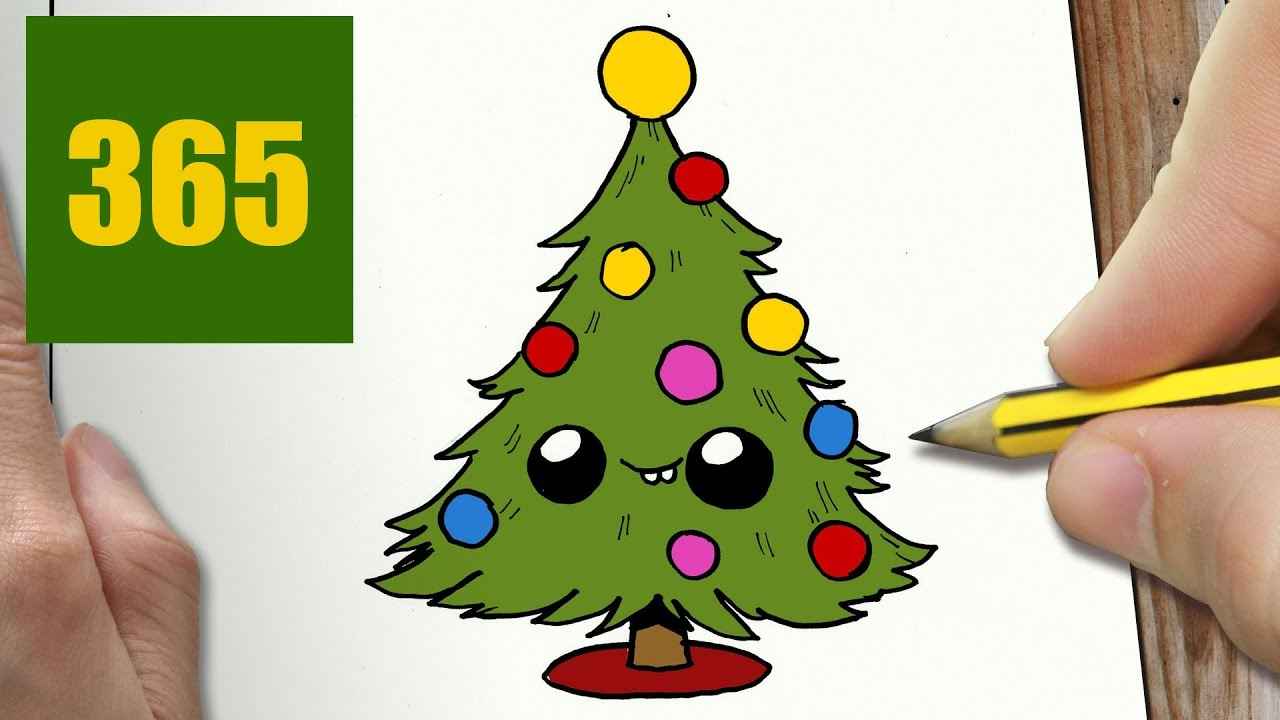 Drawn christmas ornaments cute CUTE drawing TO for step