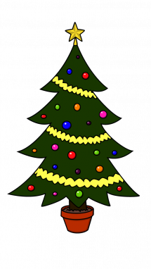 Drawn amd christmas tree Step Draw to Easy How