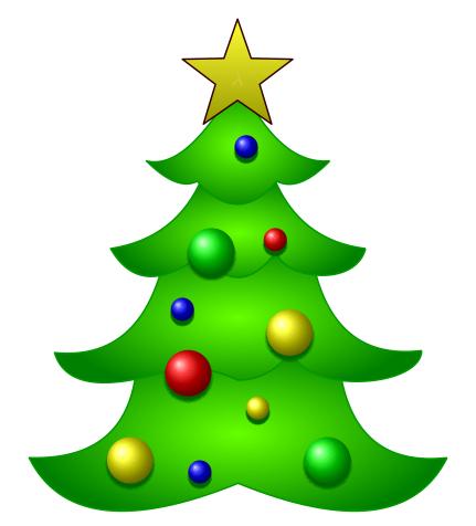 Drawn christmas ornaments fun christmas TikZ we can with tree