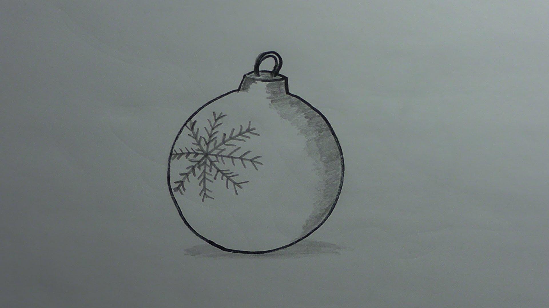 Drawn christmas ornaments fun christmas An Draw YouTube  (Christmas