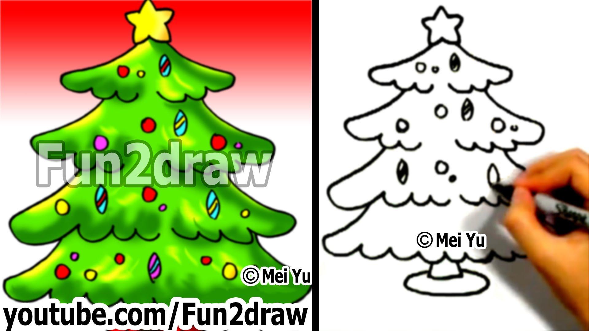 Drawn christmas ornaments fun christmas How Easy Christmas a How
