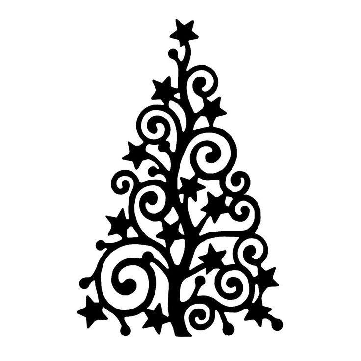 Drawn christmas ornaments ornate 'Starry Crafty Tree' Individuals Christmas