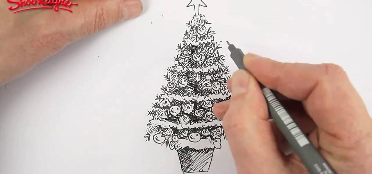 Drawn snow ice mountain WonderHowTo beautiful How Christmas a