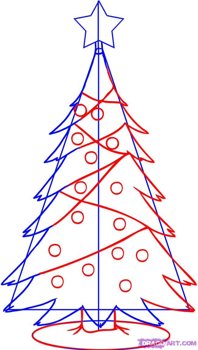 Drawn christmas ornaments simple Simple 3 how  to