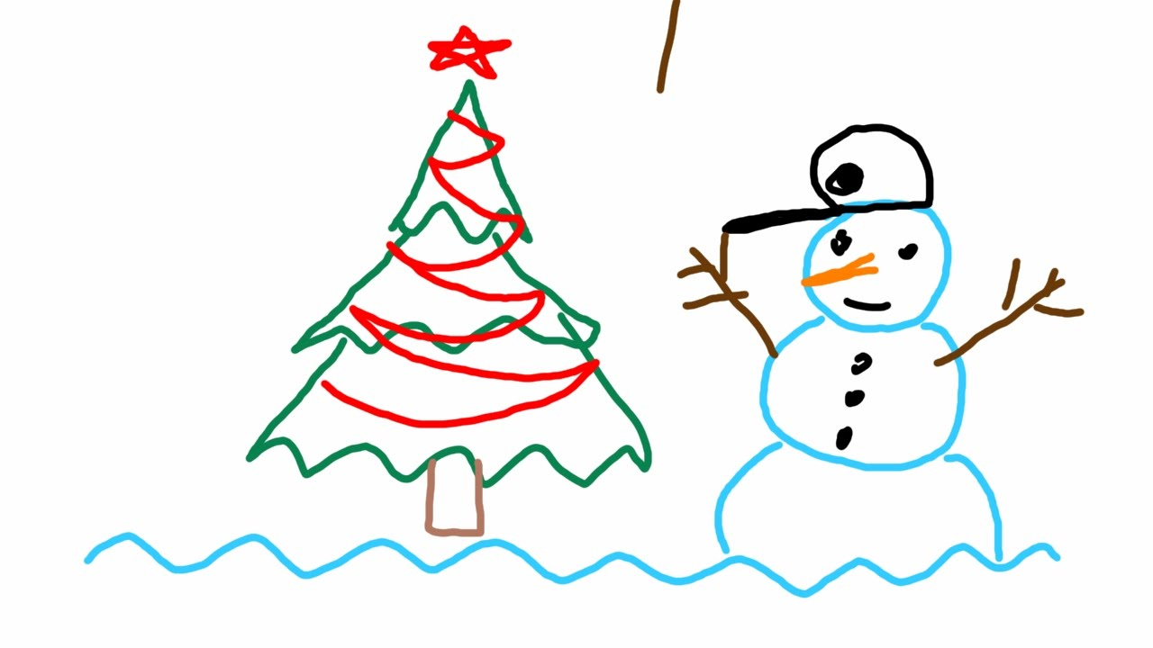 Drawn christmas ornaments simple Waves and How and