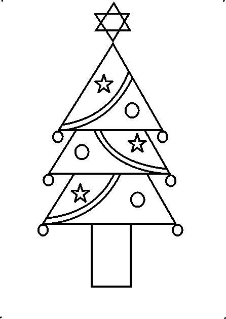 Drawn christmas ornaments step by step Now tree each How Step