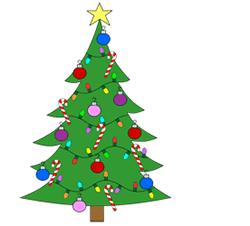 Drawn christmas tree Drawing Step Christmas Tree Step