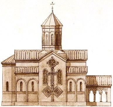 Drawn church File:Rear Prince a facade church