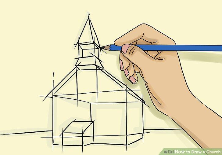 Drawn church A Steps Church: (with Image