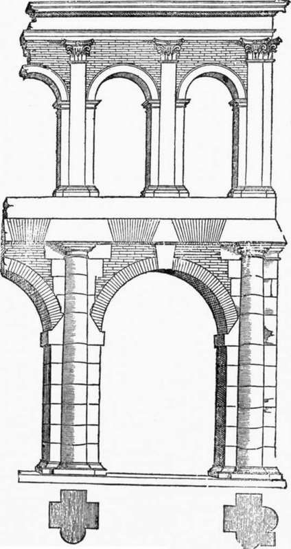 Arch clipart stilted #1