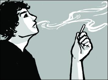 Drawn cigarette e lite #3