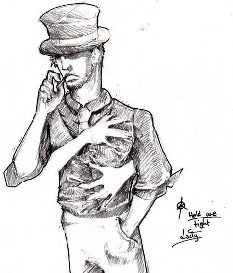 Drawn cigarette surreal #5