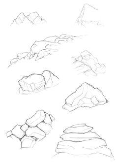 Drawn rock easy KB workshop cliffs 145 259Size: