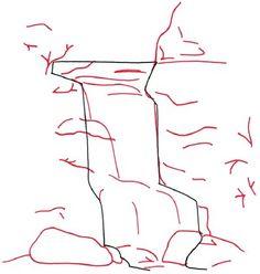Drawn cilff easy Waterfall a forgotten is #waterday