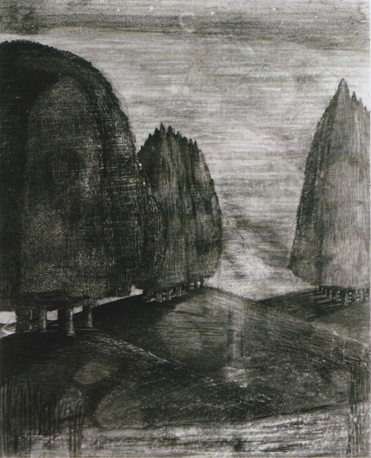 Drawn cilff landscape For of Tate Nash different