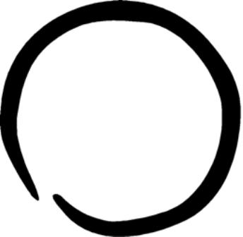 Drawn circle That to Your One Use