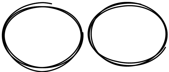 Drawn number circle png 5 You color lineWidth Stack
