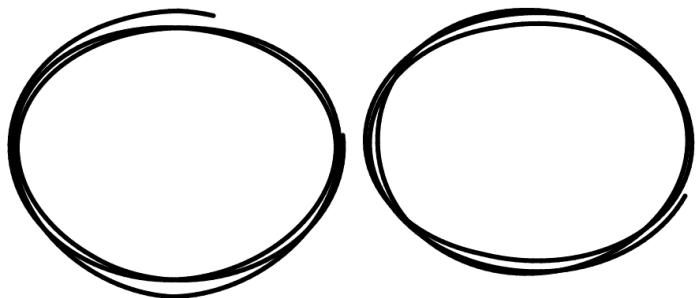 Drawn circle Change in Handdrawn You javascript
