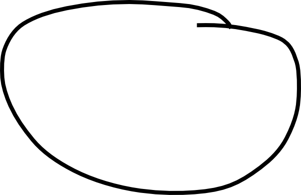 Drawn number circle png #11
