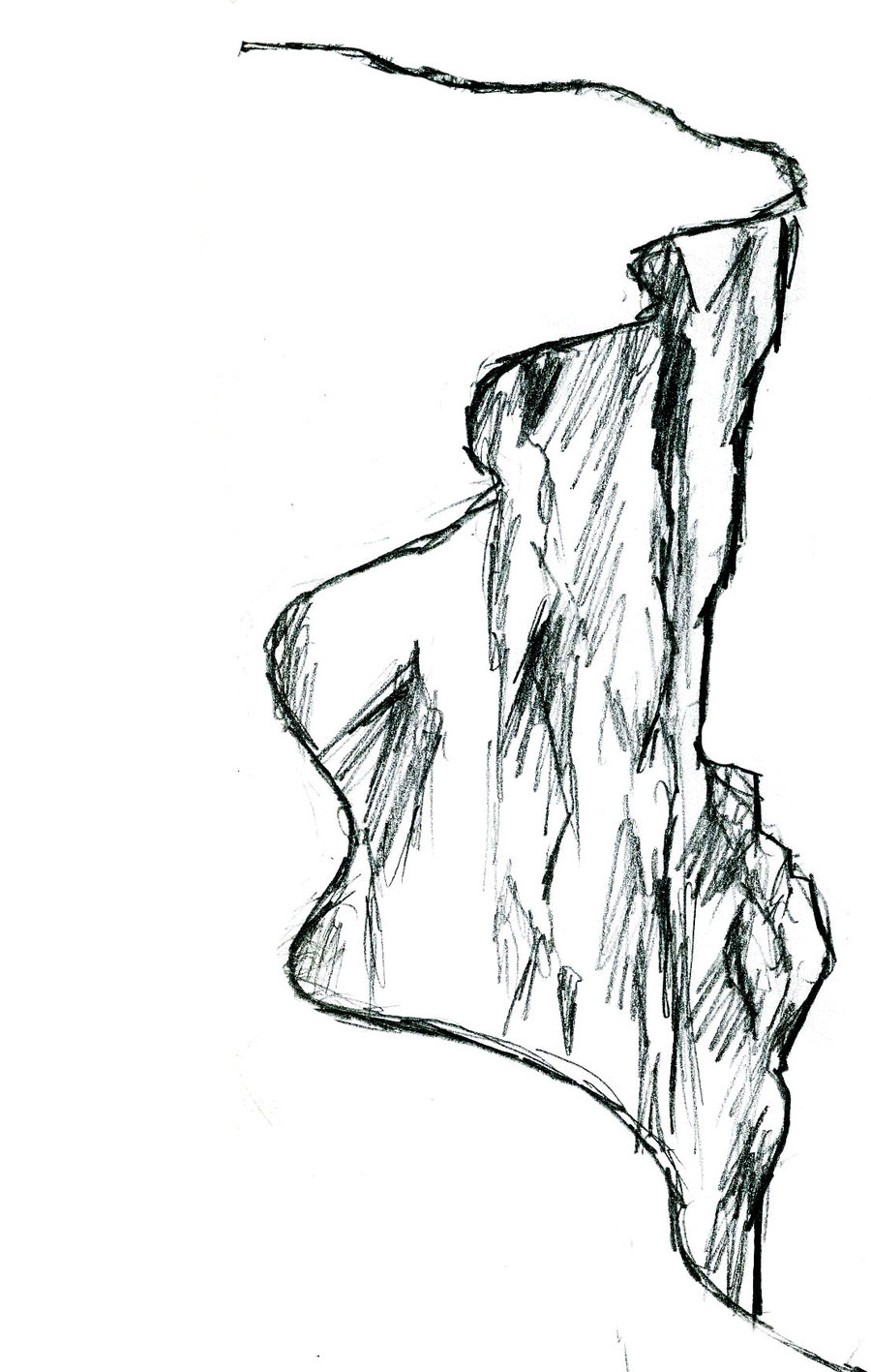 Drawn cliff BloodyLoon It's It's cliff by